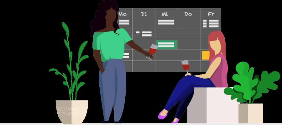 Haushalt organisieren App Kalender